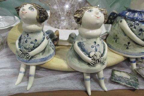 FOTKA - Stříbrné vánoční dny 2014 - nabídka   krásných  keramických  výrobků