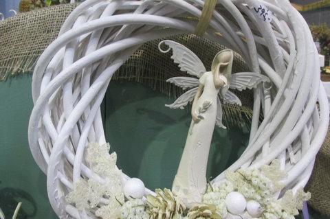 FOTKA - Stříbrné vánoční dny 2014 - největší množství andílků na jednom  místě
