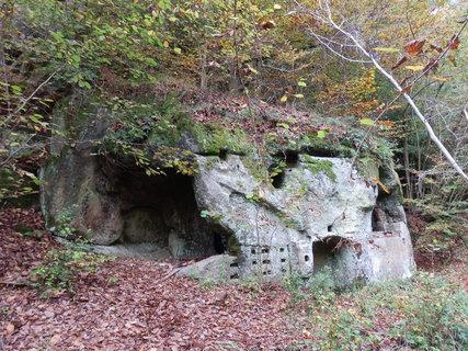 FOTKA - Skalní mlýn Hlučov fungoval od počátku 17. století a byl opuštěn zhruba před sto lety