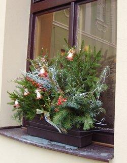 FOTKA - vánoční výzdoba okna