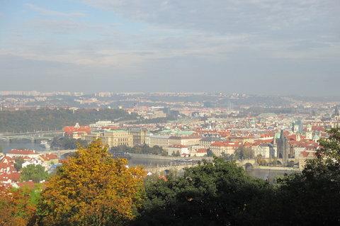 FOTKA - Pohled na Prahu  -  z Petřína
