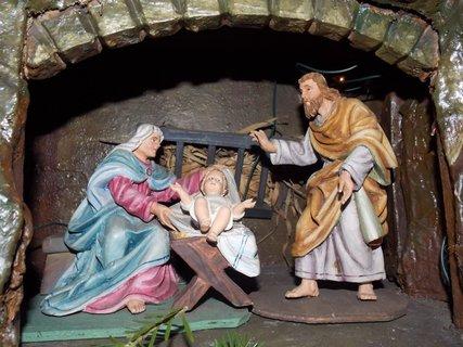 FOTKA - Josef,Marie a Ježíšek