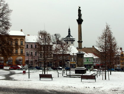 FOTKA - Po vánočních svátcích napadl sníh