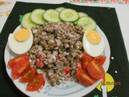 FOTKA - Čočkový salát