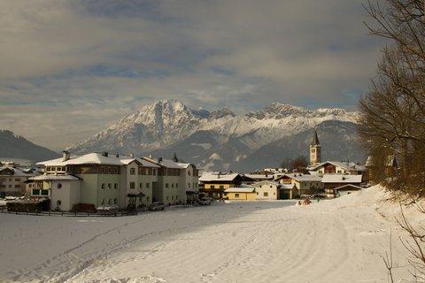FOTKA - Novoroční prochážka po okolí Saalfeldenu - Na začátku naší procházky