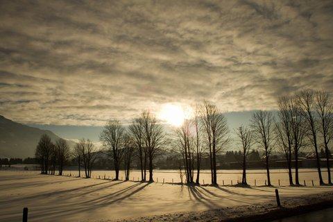 FOTKA - Novoroční prochážka po okolí Saalfeldenu - Proti slunci