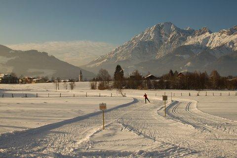 FOTKA - Novoroční prochážka po okolí Saalfeldenu - Ráj běžkařů