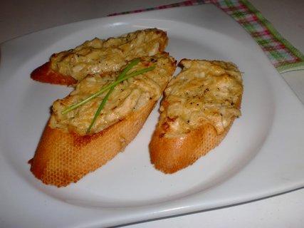 FOTKA - Sýrovo-kuřecí toustíky