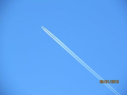 FOTKA - Na modrém zimním nebi