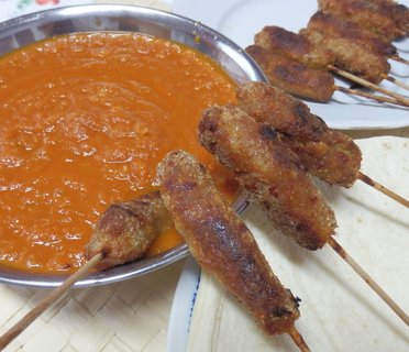 FOTKA - Kebab s barbecue omáčkou
