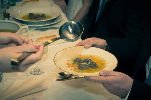 FOTKA - Svatební :   polévka