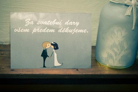 FOTKA - Svatební :   dárky