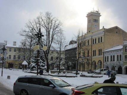 FOTKA - Frenštát p.Radh. náměstí