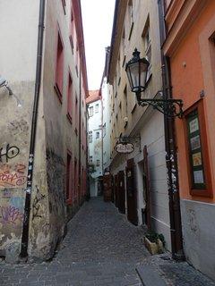 FOTKA - uličky Starého Města, jen pár kroků od hlavních turistických tahů, zde je klid....