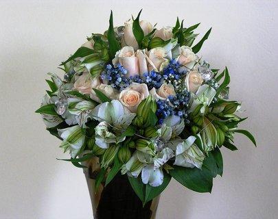 FOTKA - svatební kytice mojí snachy
