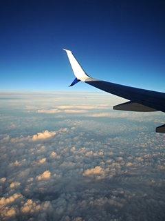 FOTKA - let nad oblaky
