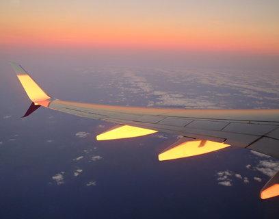 FOTKA -  odraz západu slunce