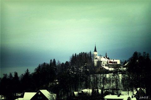 FOTKA - kostel Na Borov�  Malenovice