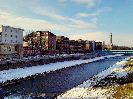 FOTKA - Moravská Ostrava s radnicí a krajským soudem