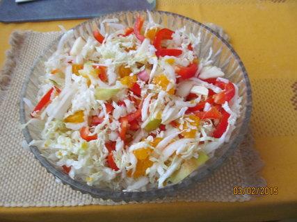 FOTKA - Salátek z čínského zelí