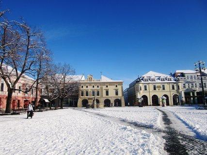 FOTKA - Masarykovo nám. v Uher.Hrad.