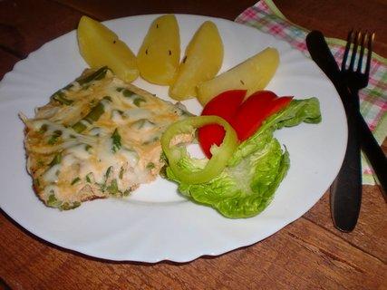 FOTKA - Rybí pánvička s fazolkami