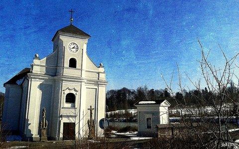 FOTKA - šikmý kostel Karviná 2- Doly
