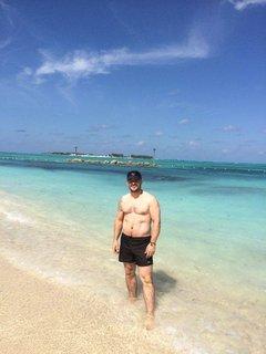 FOTKA - při práci na Bahamách