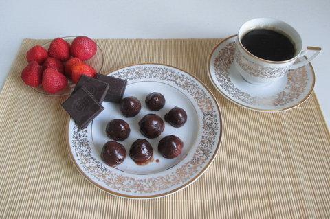 FOTKA - Ovocné svačinky: Čokoládové jahody