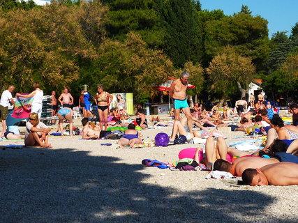 FOTKA - Pláž u hotelu Olympia