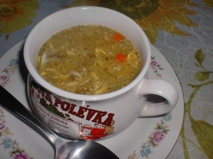 FOTKA - Rychlá polévka ze strouhaných brambor