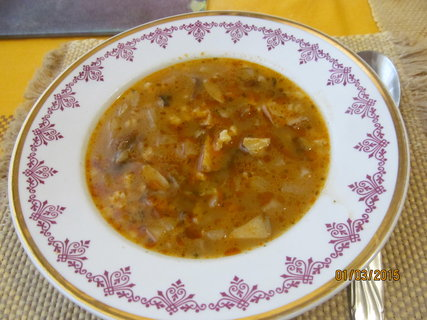 FOTKA - Kedlubnová  polévka