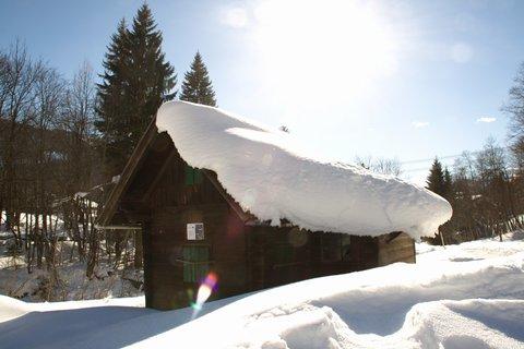 FOTKA - Zimní Triefen - Pod sněhovou peřinou
