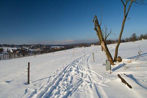 FOTKA - Běžkařská trasa u Mníšku