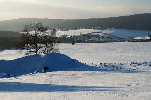 FOTKA - Zima u Mníšku