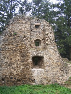 FOTKA - část obvodové zdi hradu Orlík