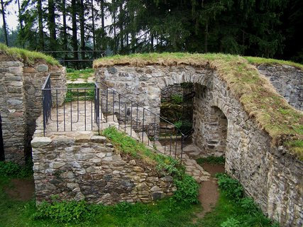 FOTKA - část hradu Orlík
