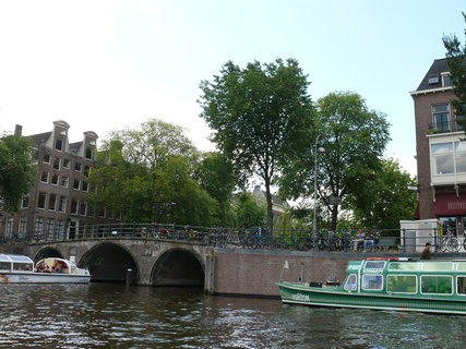 FOTKA - amsterdam z loďky