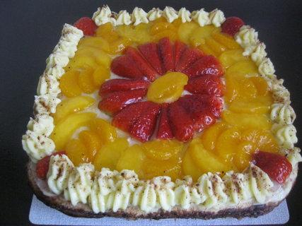FOTKA - ovocný dort s pudinkovým krémem