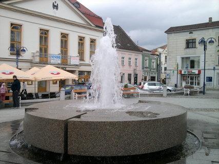 FOTKA -  kašna v J. Hradci