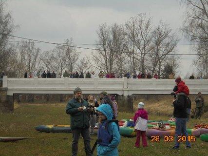 FOTKA - Klikovský most byl plný