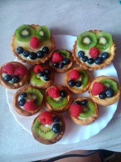 FOTKA - Ovocné košíčky