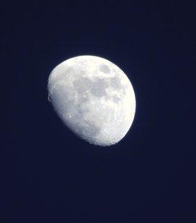 FOTKA - Krátery na Měsíci