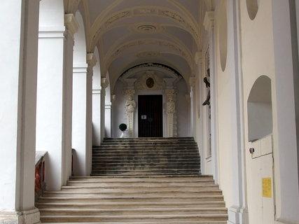 FOTKA - Roudnický zámek -schodiště