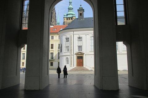 FOTKA - Pražský hrad - vstup na II. nádvoří