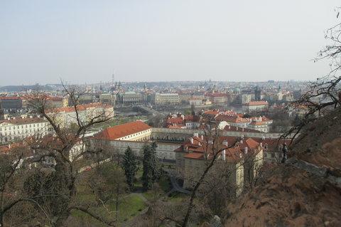 FOTKA - Pohled z terasy nad Starými zámeckými schody