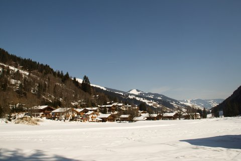 FOTKA - Baumzipfelweg v zimě - Lengau
