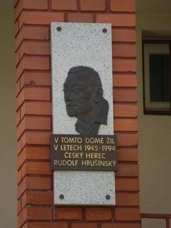 FOTKA - zajímavá místa Prahy - vila v Nuslích kde žil Rudolf Hrušínský