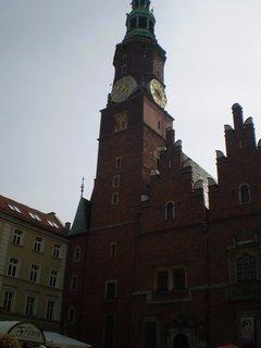 FOTKA - Věž radnice s hodinami
