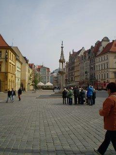FOTKA - Sloup na náměstí před radnicí